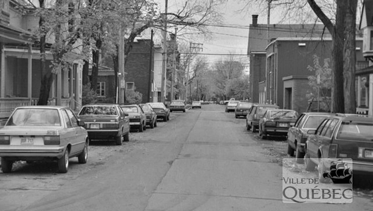 Montcalm dans les années 1980 : rue Fraser - Jean Cazes