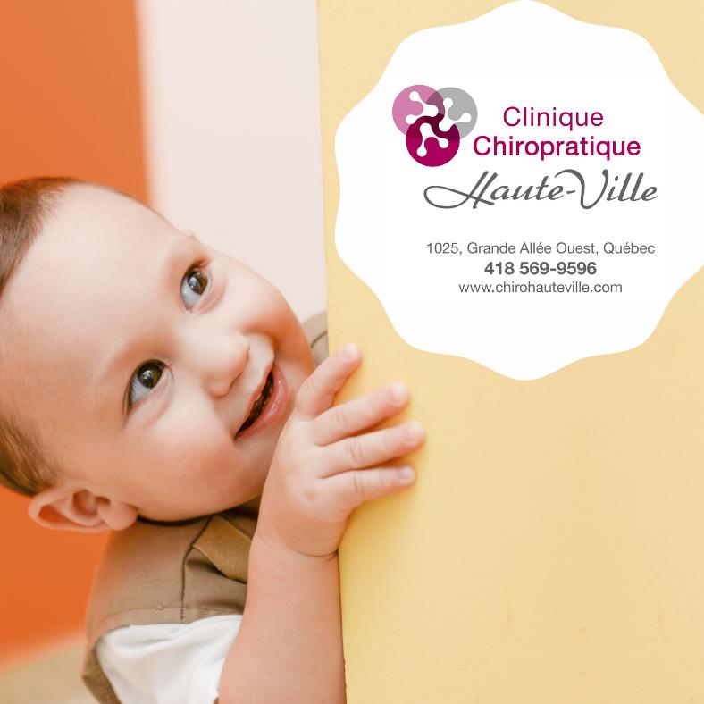 Soins chiropratiques pour les enfants | Clinique Chiropratique Haute-Ville