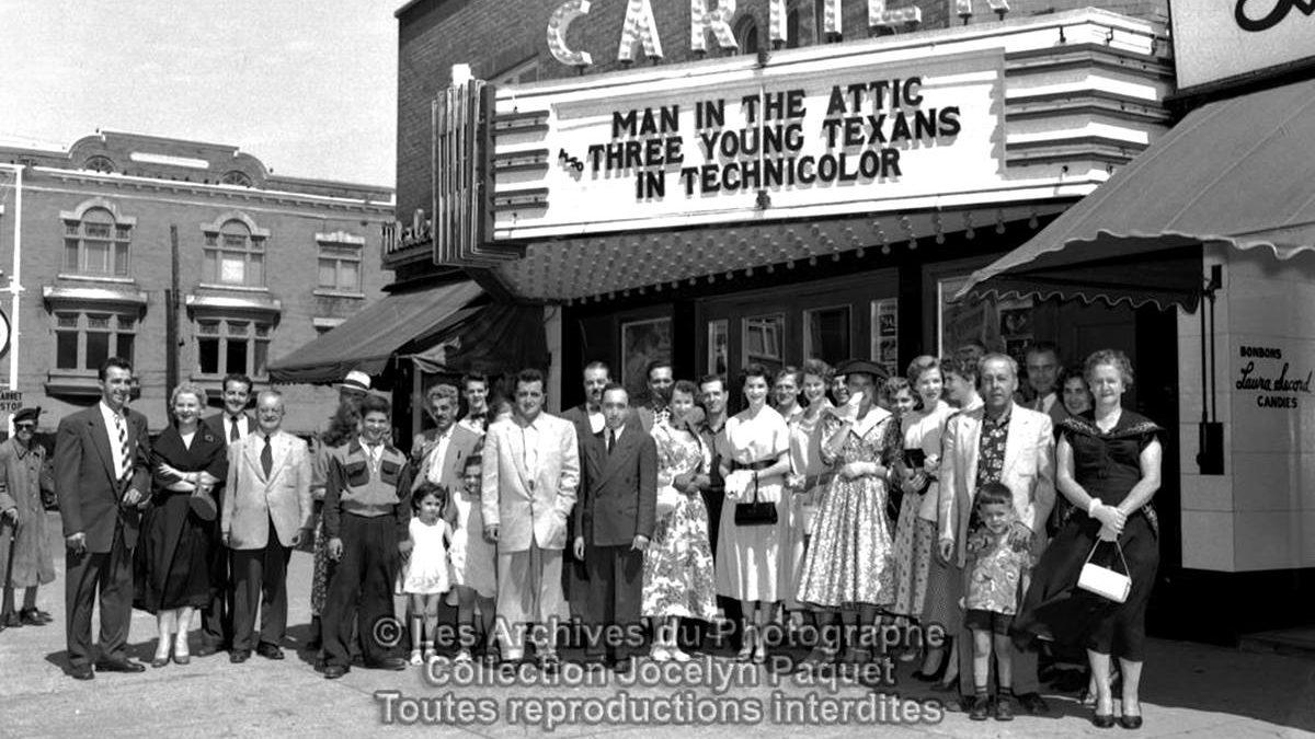 Montcalm dans les années 1950 : le cinéma Cartier | 26 septembre 2021 | Article par Jean Cazes