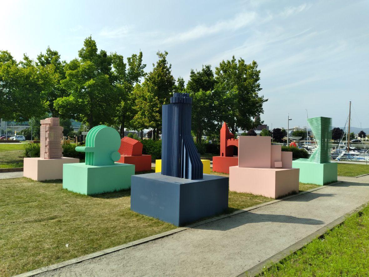 L'oeuvre du collectif Delirious Quebec pour les Passages Insolites 2021