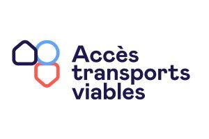 Nouveau logo d'Accès transports viables, 2021