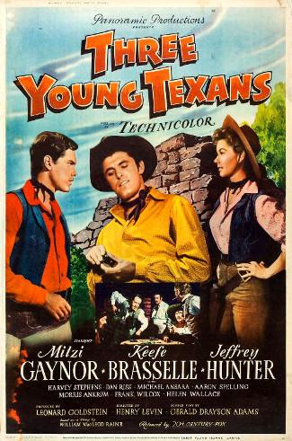 Affiche du film Three Young Texans