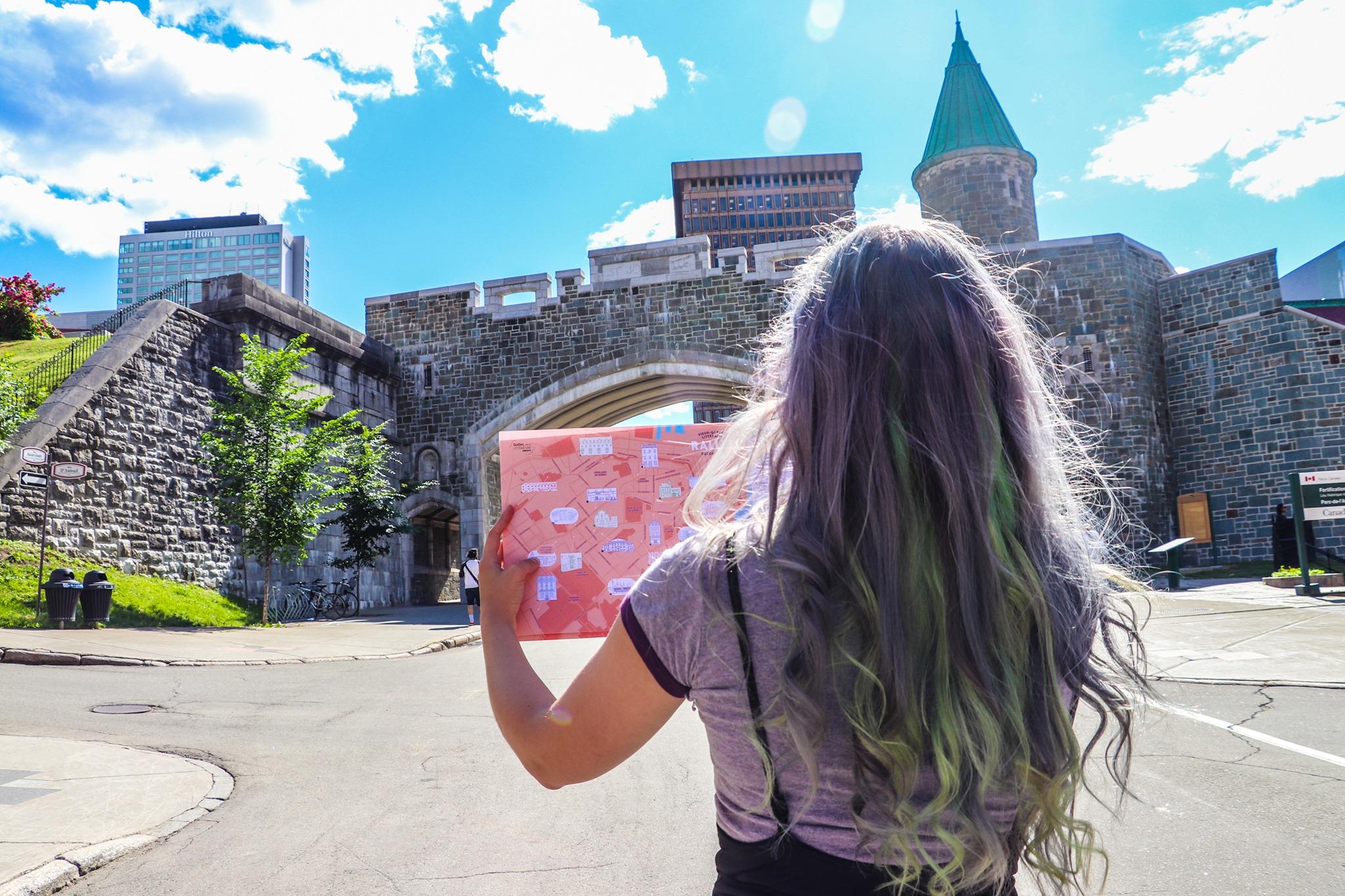 Vieux-Québec littéraire -Rallye découverte